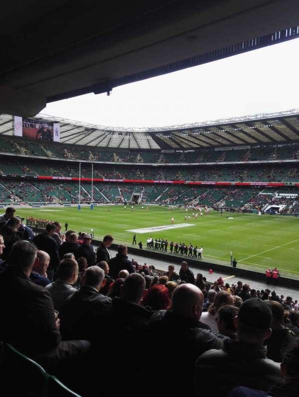 Twickenham Stadium, sección: L21, fila: 38, asiento: 105