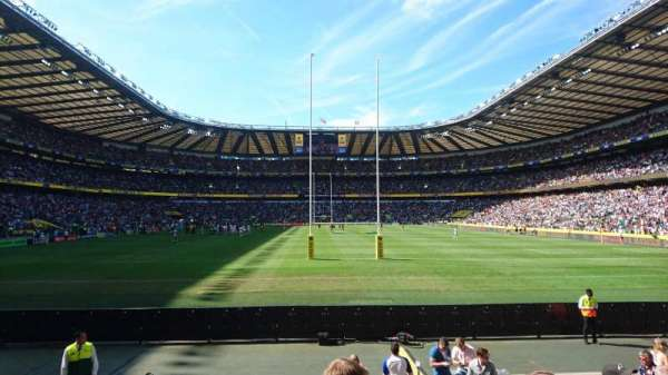Twickenham Stadium, sección: L34, fila: 11, asiento: 169