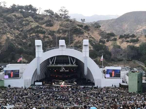 Hollywood Bowl, sección: R1, fila: 1, asiento: 29