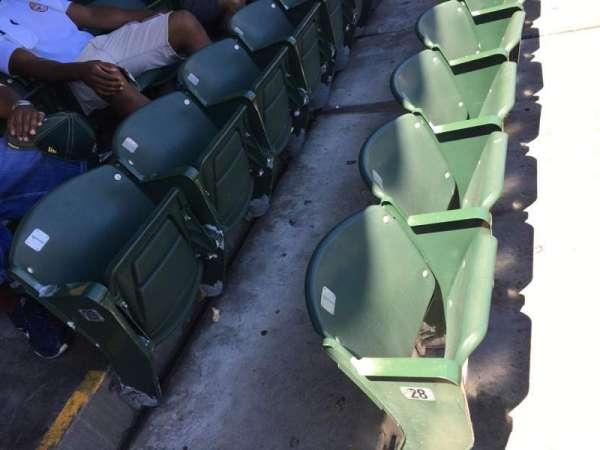 RingCentral Coliseum, sección: 114, fila: 29, asiento: 1