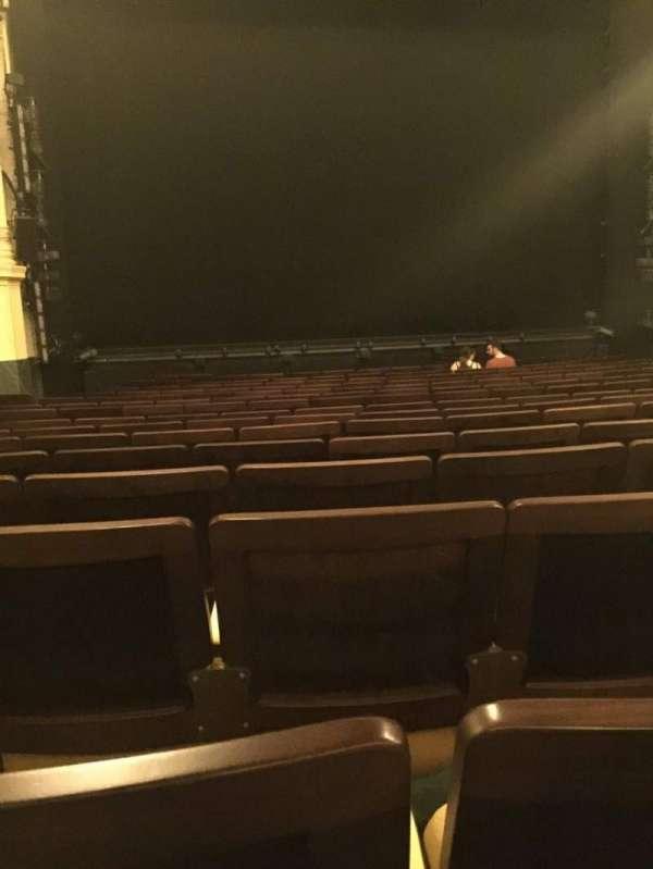 Hudson Theatre, sección: Orchestra C, fila: P, asiento: 103