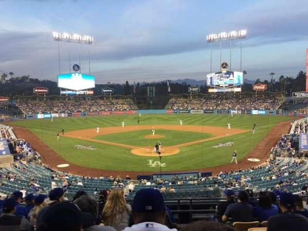 Dodger Stadium, sección: 101LG, fila: H, asiento: 1