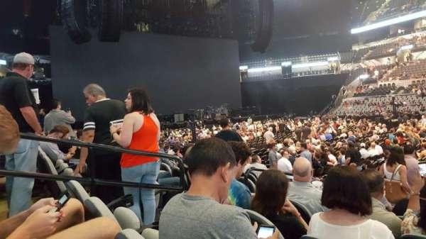 AT&T Center, sección: 6, fila: 12, asiento: 19