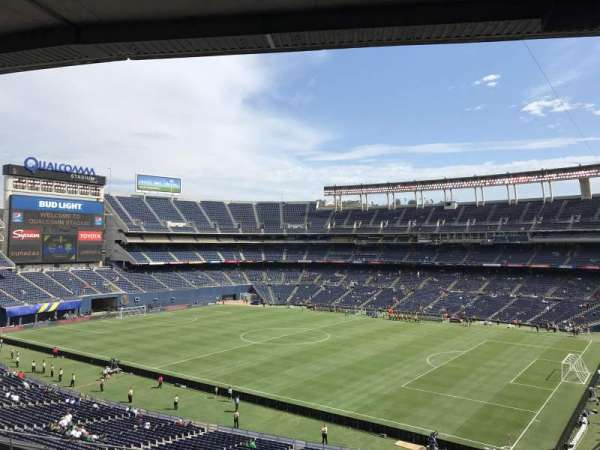 SDCCU Stadium, sección: C12, fila: 12, asiento: 1
