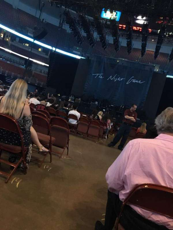 Honda Center, sección: 101, fila: 17, asiento: 14