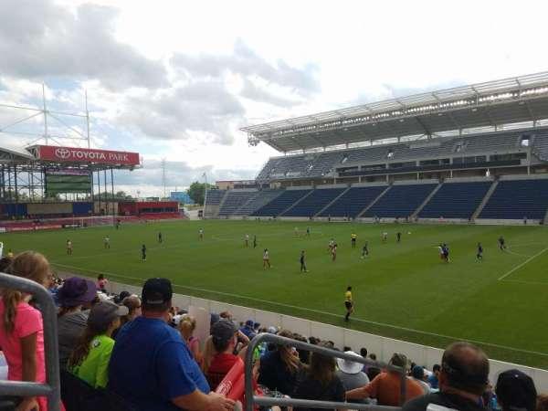 SeatGeek Stadium, sección: 124, fila: 14, asiento: 19-20