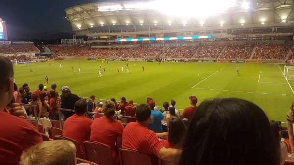 Rio Tinto Stadium, sección: 34, fila: Y, asiento: 22