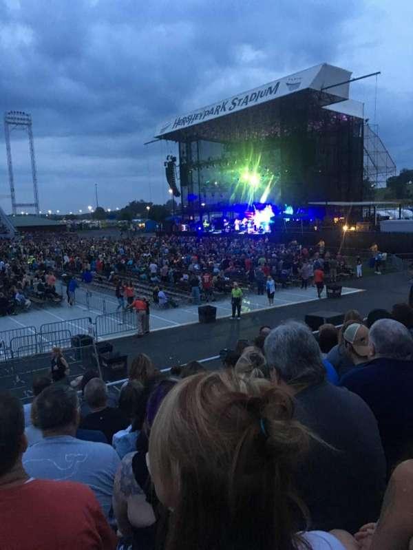 Hershey Park Stadium, sección: 26, fila: B, asiento: 13