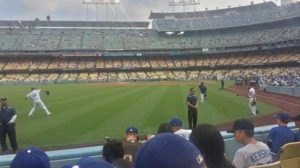 Dodger Stadium, sección: 53FD, fila: D, asiento: 5