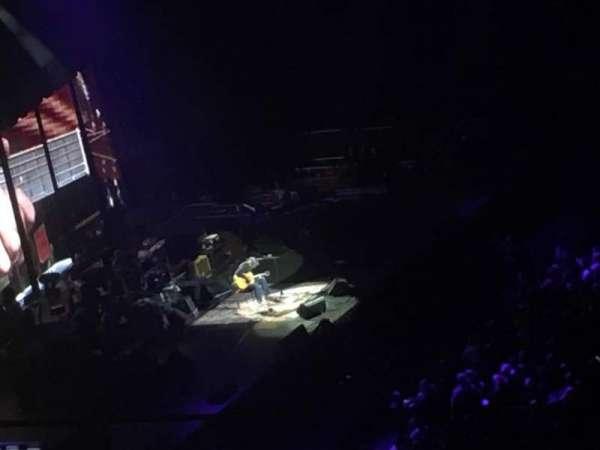 Madison Square Garden, sección: 225, fila: 14