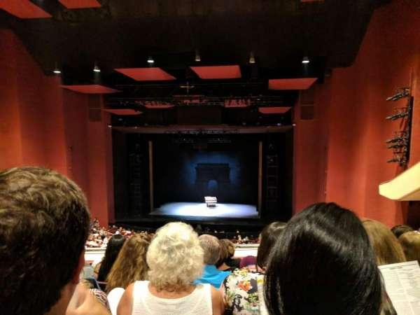 San Diego Civic Theatre, sección: Mezzanine, fila: U, asiento: 22