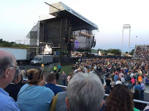 Hershey Park Stadium, sección: 8, fila: DD, asiento: 20