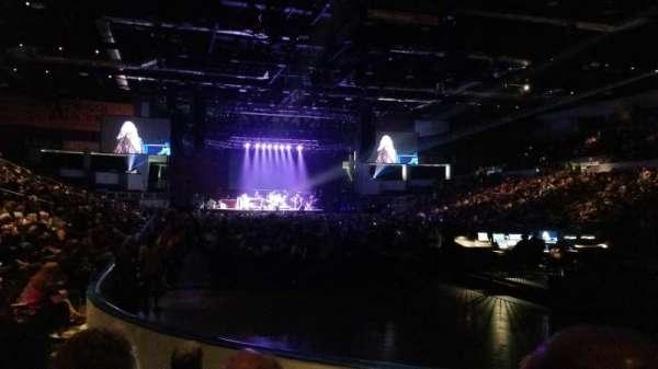 Blue Cross Arena, sección: 113, fila: E, asiento: 7