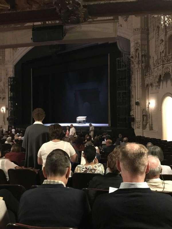 Orpheum Theatre (San Francisco), sección: Orchestra R, fila: Y, asiento: 22