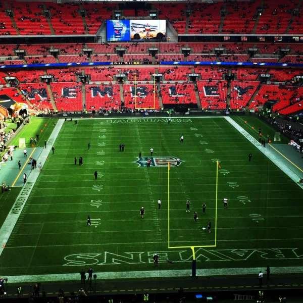 Wembley Stadium, sección: 540, fila: 13, asiento: 29