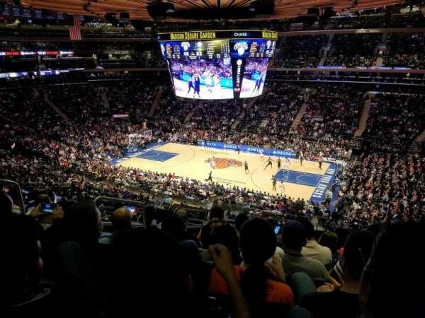 Madison Square Garden, sección: 226, fila: 8, asiento: 3