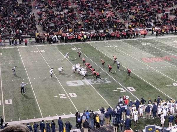 Maryland Stadium, sección: 203, fila: c, asiento: 19
