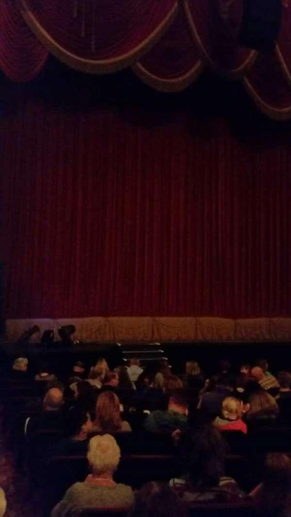 Providence Performing Arts Center, sección: Left Ochestra, fila: N, asiento: 1