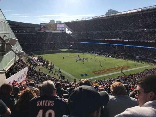 Soldier Field, sección: 356, fila: 6, asiento: 7