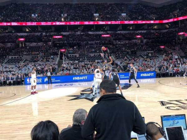 AT&T Center, sección: 24, fila: 4, asiento: 13