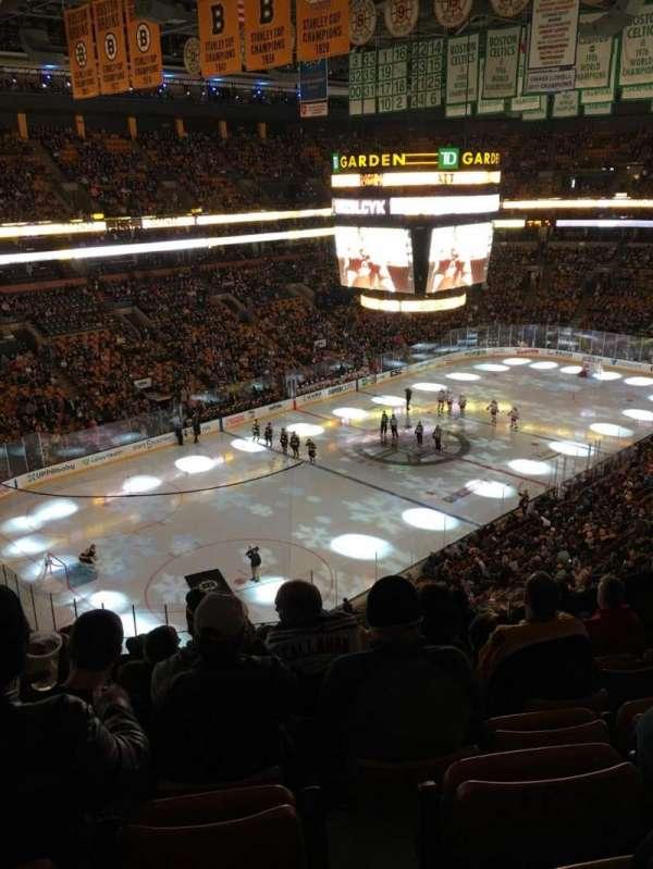 TD Garden, sección: Bal 320, fila: 7, asiento: 5