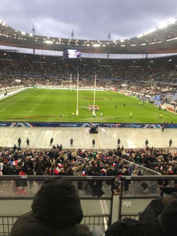 Stade de France, sección: L12, fila: 37, asiento: 25