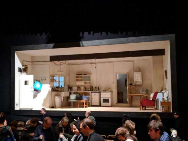 Samuel J. Friedman Theatre, sección: Orchestra R, fila: K, asiento: 112