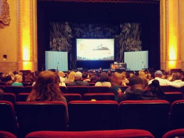 Balboa Theatre, sección: Orch, fila: M, asiento: 115