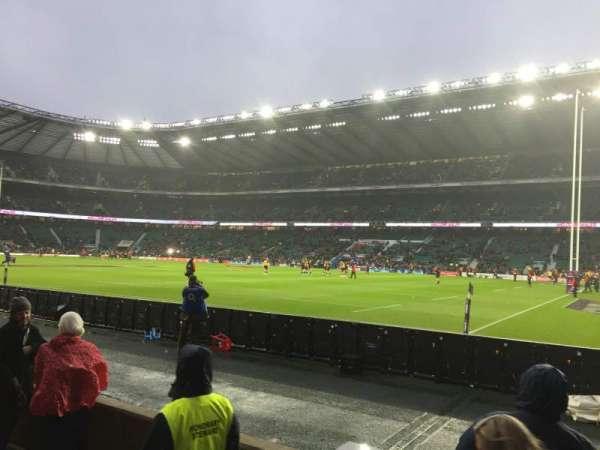 Twickenham Stadium, sección: L21, fila: 3, asiento: 93