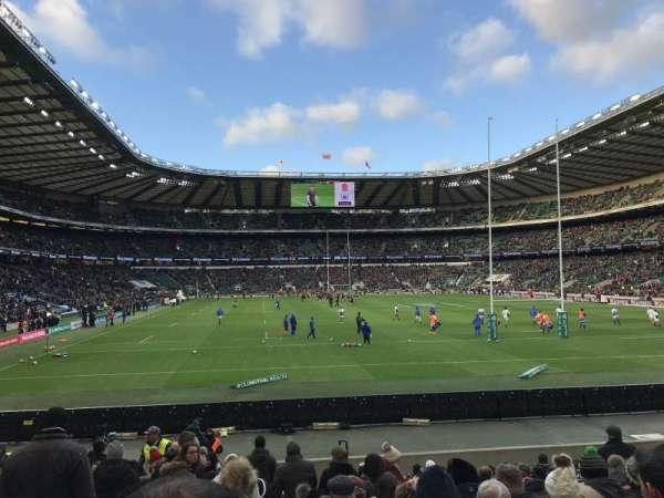 Twickenham Stadium, sección: L35, fila: 18, asiento: 207
