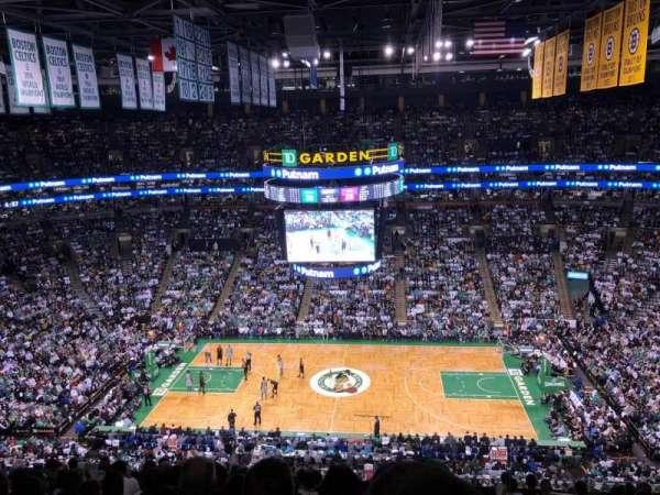 TD Garden, sección: BAl 301, fila: 12, asiento: 1