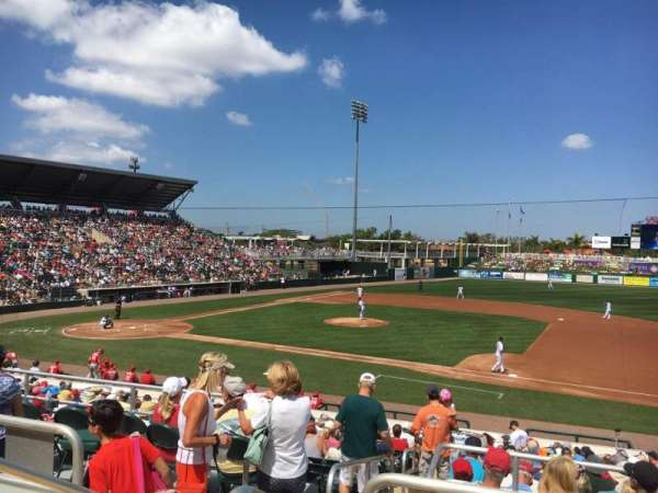 Hammond Stadium at CenturyLink Sports Complex, sección: 202, fila: 3, asiento: 19