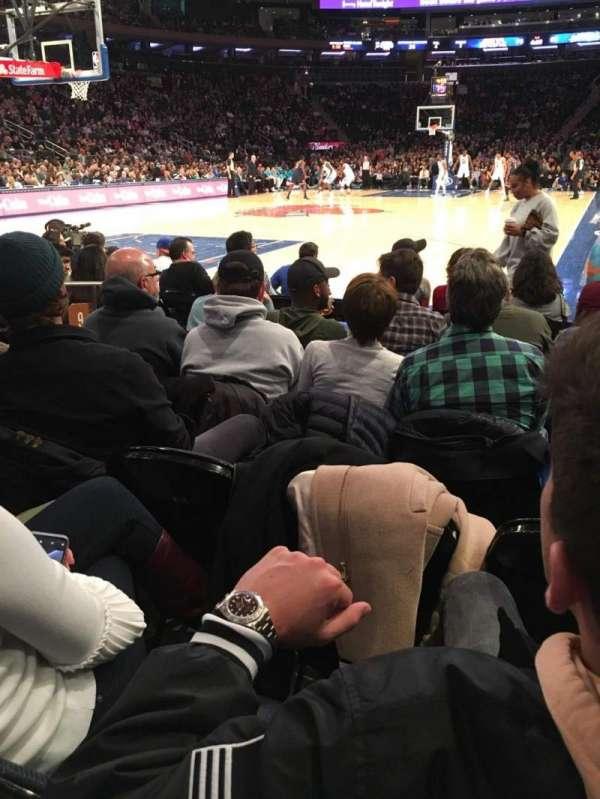 Madison Square Garden, sección: 9, fila: 5, asiento: 6