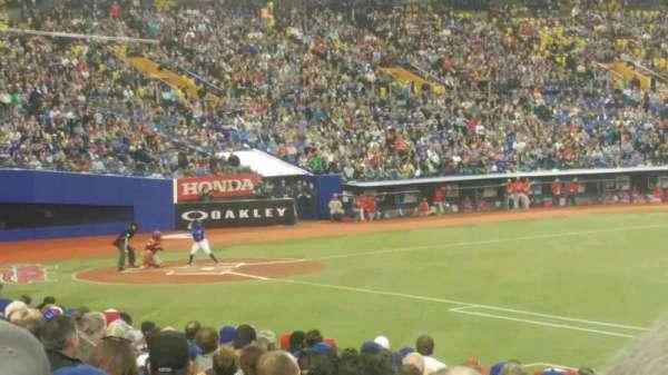 Olympic Stadium, Montreal, sección: 115, fila: TT, asiento: 12