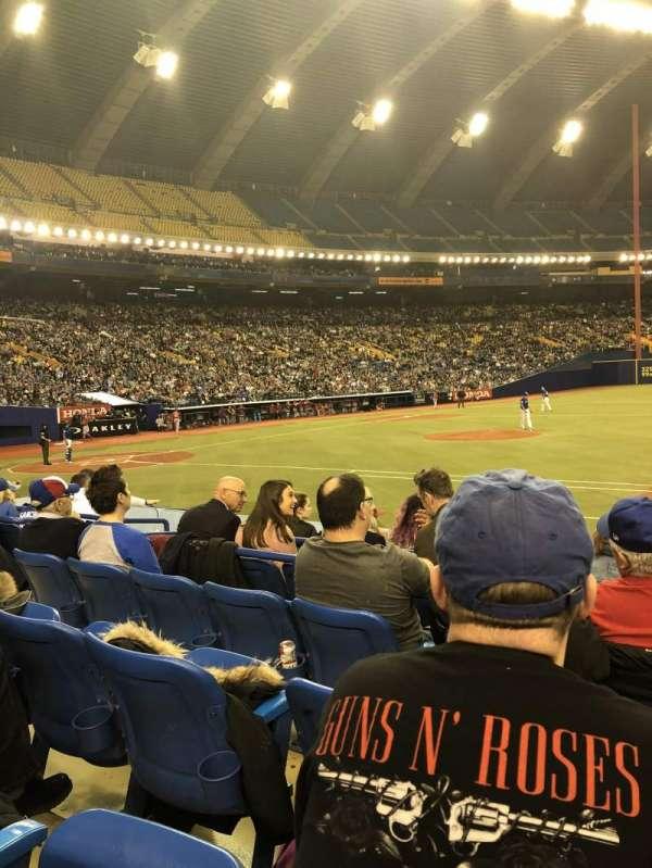 Olympic Stadium, Montreal, sección: 111, fila: Kk, asiento: 10