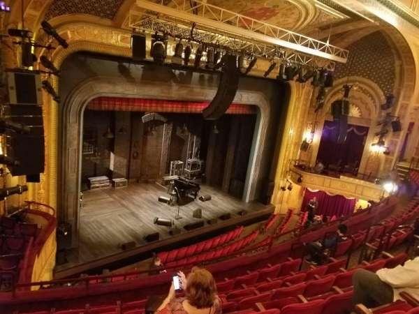 Walter Kerr Theatre, sección: Left Mezzanine, fila: G, asiento: 25
