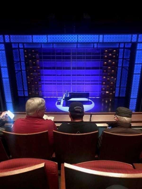 Stephen Sondheim Theatre, sección: Mezzanine, fila: CC, asiento: 110