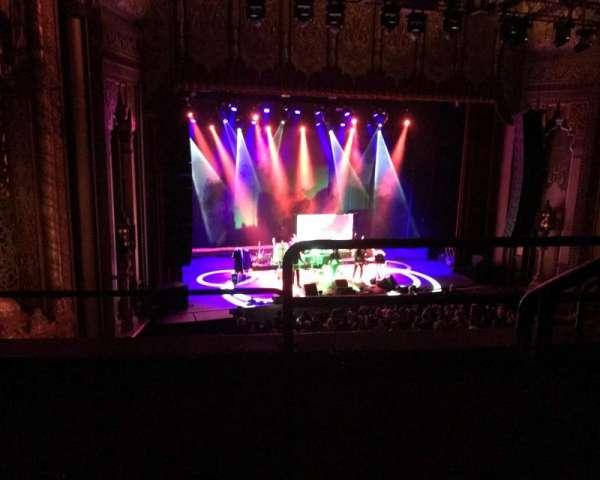 Fox Theatre Oakland, sección: Loge, fila: B, asiento: 1