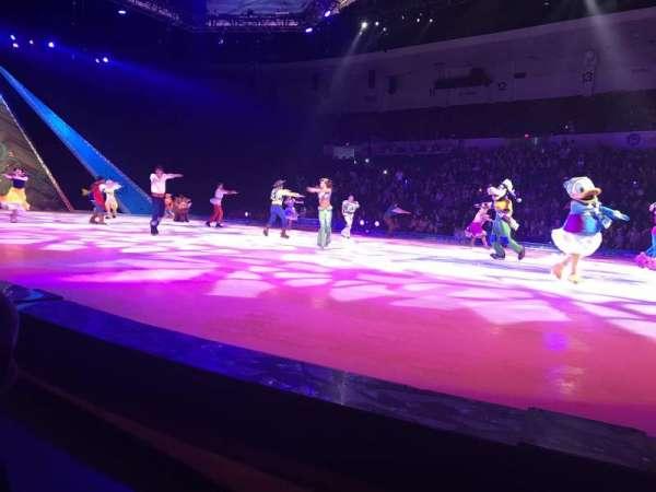 Pechanga Arena, sección: FR23, fila: A, asiento: 12