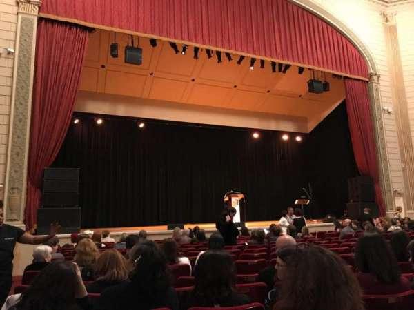 The Town Hall, sección: Orchestra, fila: O, asiento: 127
