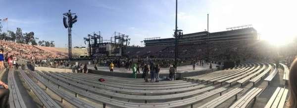 Rose Bowl, sección: 10-L, fila: 1, asiento: 7