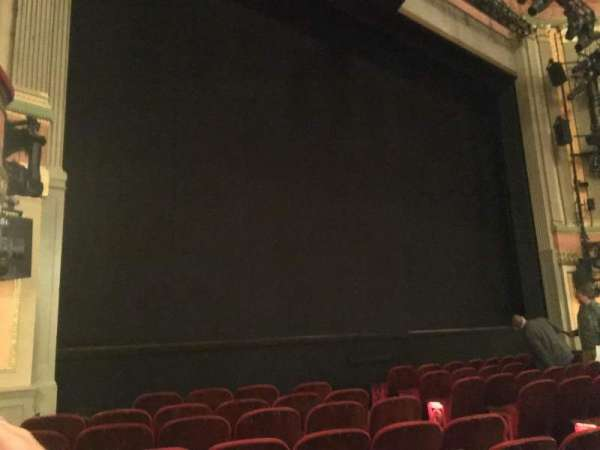 Neil Simon Theatre, sección: Orchestra, fila: G, asiento: 13