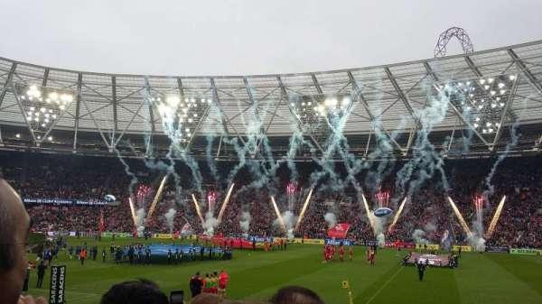 London Stadium, sección: 111, fila: 14, asiento: 225
