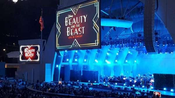Hollywood Bowl, sección: D, fila: 5, asiento: 36