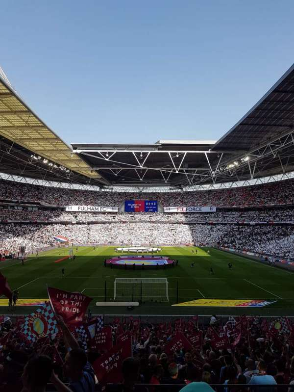Wembley Stadium, sección: 133, fila: 35, asiento: 319