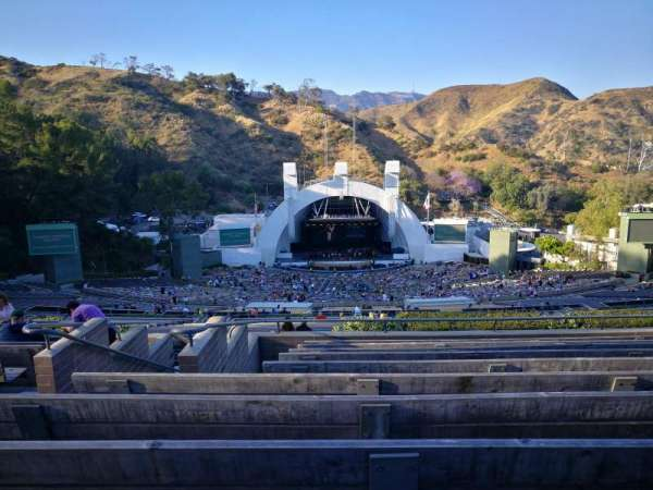 Hollywood Bowl, sección: S, fila: 10, asiento: 121