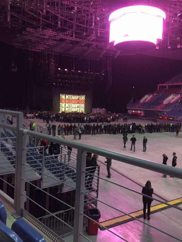 Tauron Arena Krakow, sección: A08, fila: 2, asiento: 12
