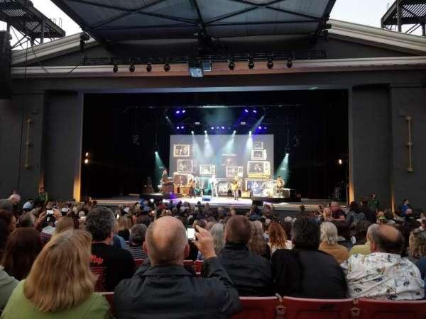 The Greek Theatre, sección: A, fila: P, asiento: 109