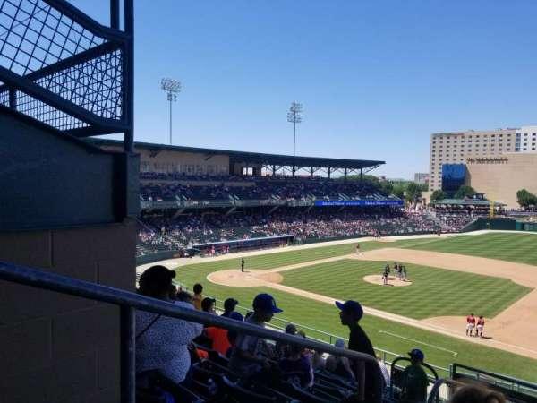 Victory Field, sección: 216, fila: M, asiento: 2