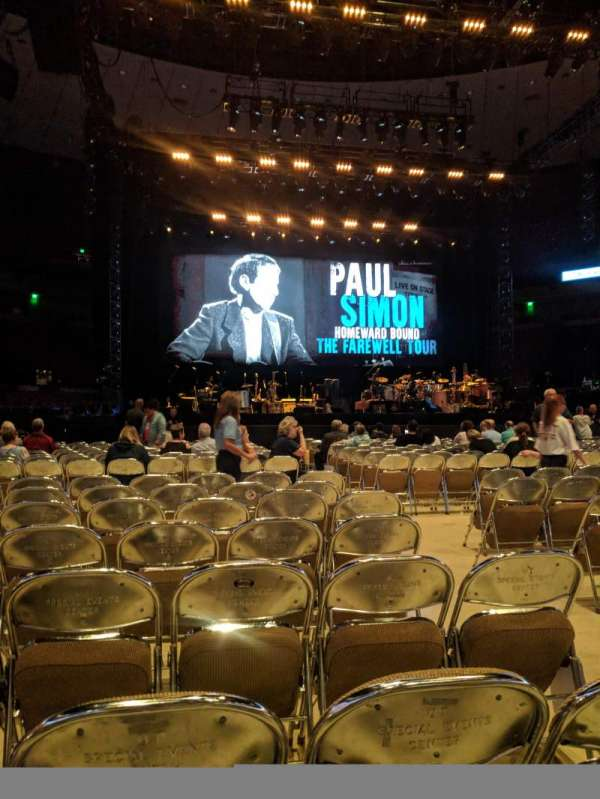 Frank Erwin Center, sección: Floor 6, fila: 8, asiento: 3